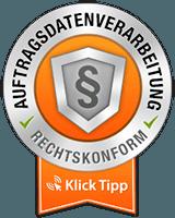 Klick-Tipp Siegel Auftragsverarbeitung Online Marketing
