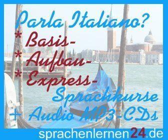 Parla italiano, Italienisch lernen